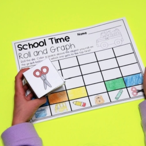 School Time Roll and Graph