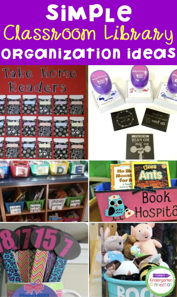Check out these simple classroom library organization ideas from teachers for teachers that can help you get organized too!