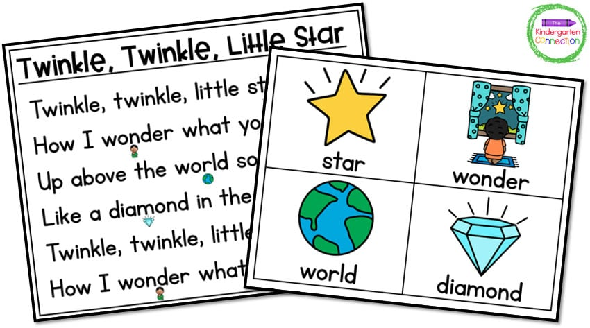 These picture cards make teaching with nursery rhymes a great lesson in sequencing!