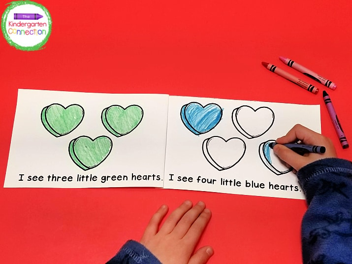 As an added bonus, this literacy activity also strengthens fine motor skills through coloring!