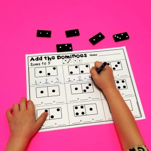 Domino Addition Printables