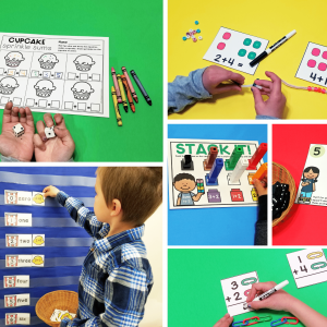 Addition Centers and Activities