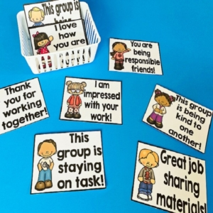 Compliment Cards for the Classroom
