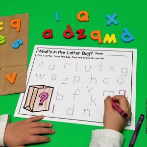 Letter Recognition and Tracing Printables