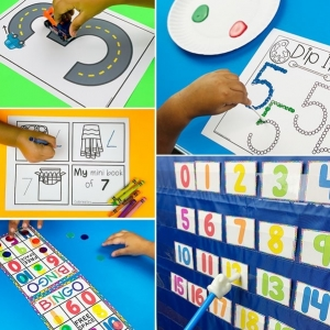 Number Centers and Activities