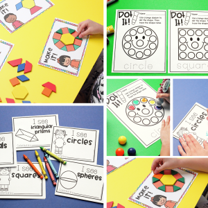Shape Centers and Activities