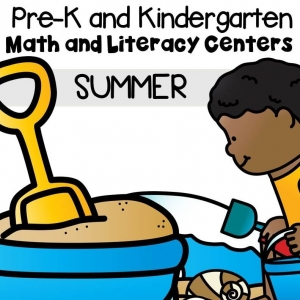 Summer Math and Literacy Centers
