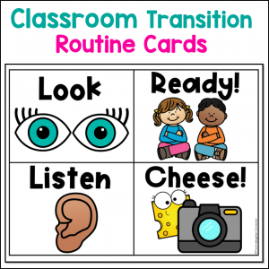 Routine Cards for Classroom Transitions