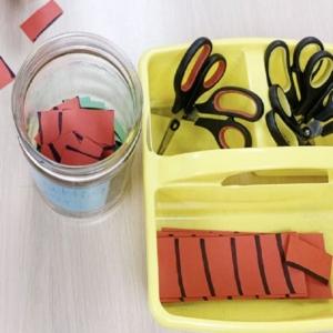 Simple Scissor Skills Practice