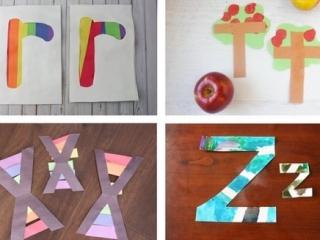 Quick and Easy Alphabet Crafts