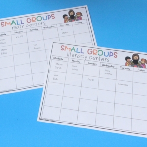 Editable Small Group Planning Templates