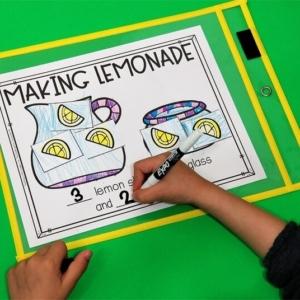 Parts of 5 Lemonade Activity
