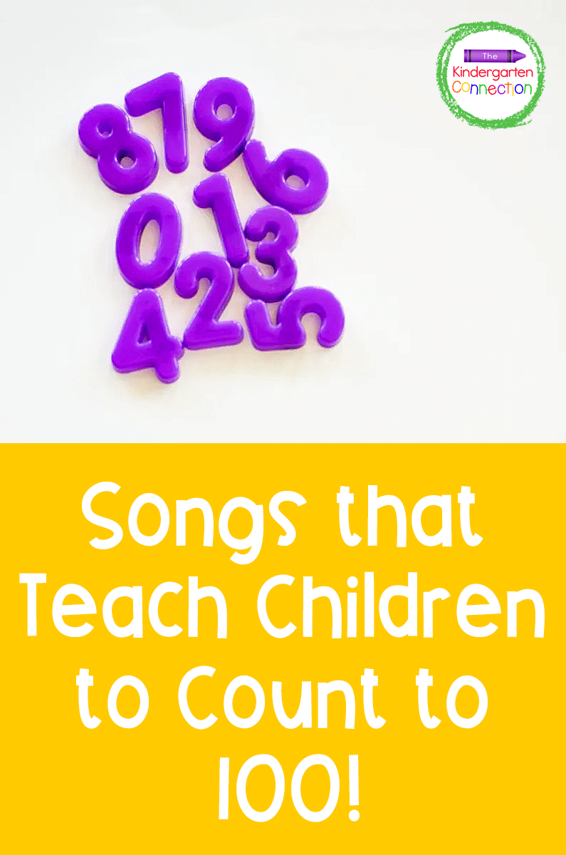 Need a creative way to teach counting? These songs that teach counting to 100 are perfect for your Kindergarten lesson plans!