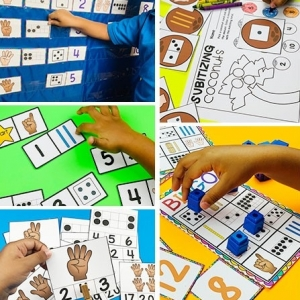 Subitizing Centers and Activities