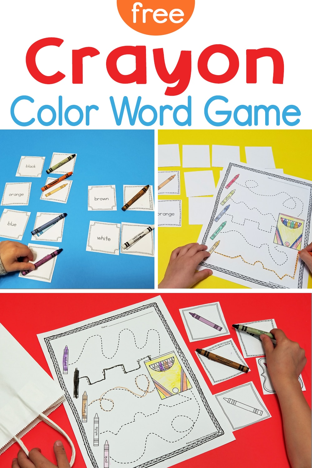 This free color word game is an extension activity for The Day the Crayons Came Home by Drew Daywalt. It's perfect for Pre-K & Kindergarten!