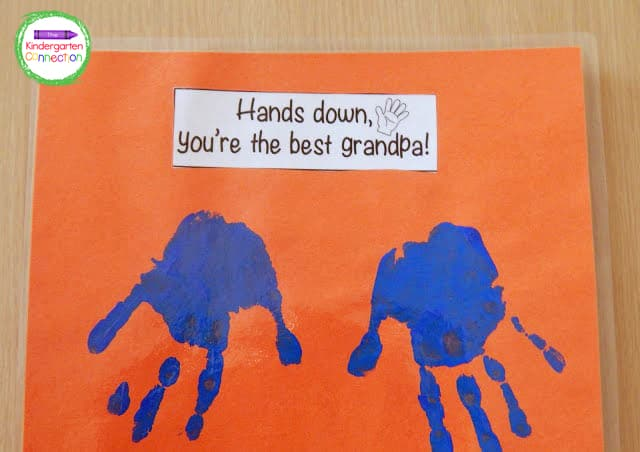 This Father's Day gift can be customized for grandpas, too!