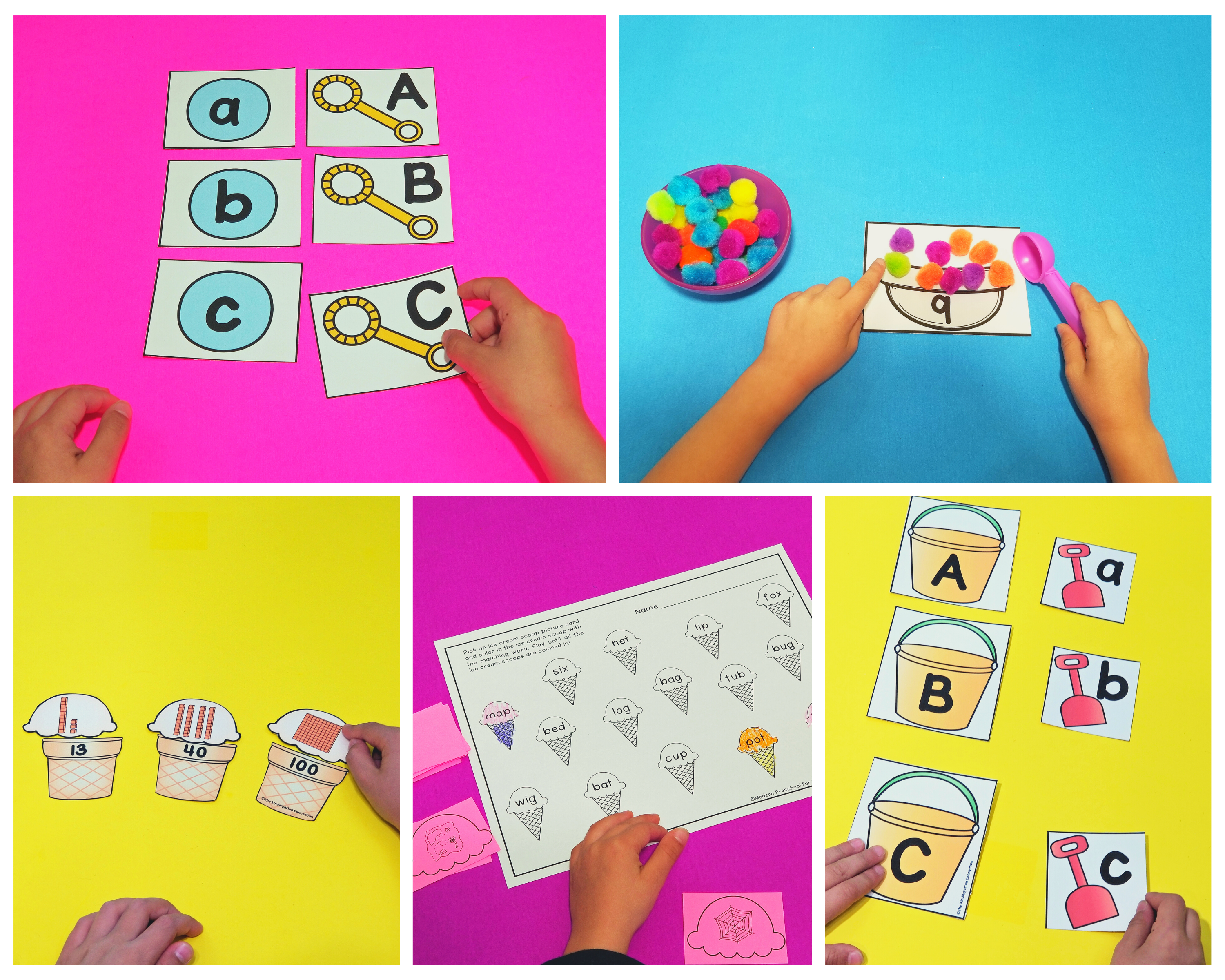 These printable summer-themed activities are low-prep and super fun!