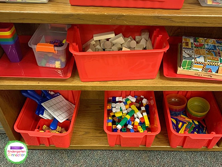 Teaching students to put toys and supplies back where they belong is so important.