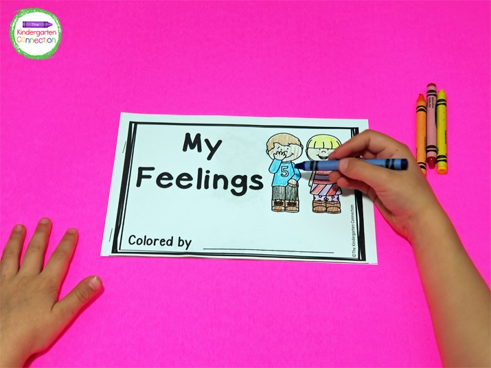 """The students will enjoy that the cover says, """"Colored by"""" instead of """"Name."""""""