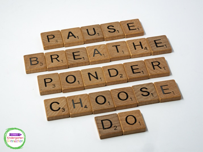 Pause, breathe, and then acknowledge and affirm your students before quickly redirecting back to the lesson.