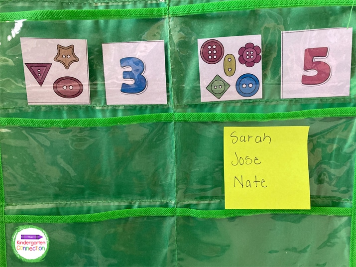 Keep a sticky note nearby to write down student names and help you remember to circle back to them.