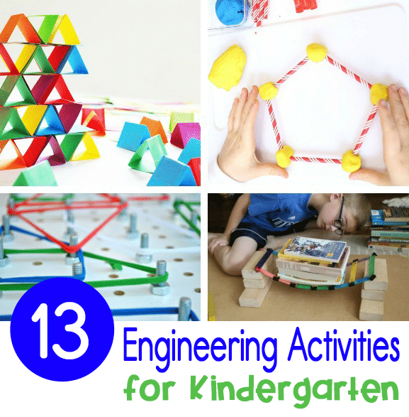 These experiments will teach kids how to support weight, determine spatial awareness, select the right material for the job, create a design, and more.