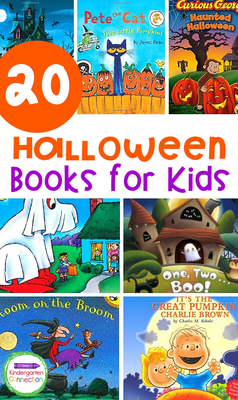 """These 20 """"spooktacular"""" Halloween books for kids are fun and engaging read alouds for the classroom or home in the month of October!"""