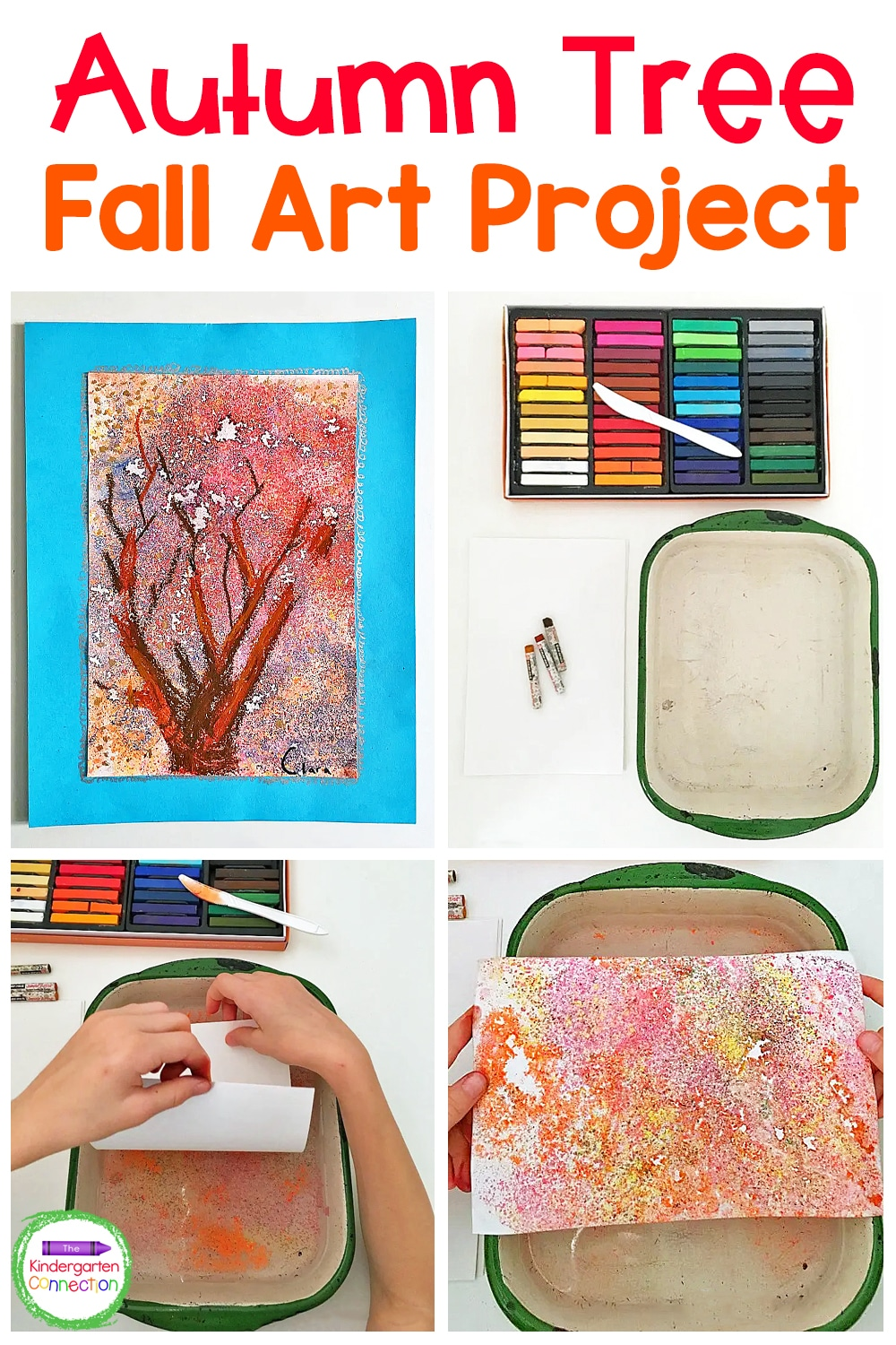 Looking for a fun fall craft to do with your kids? This Autumn Tree Fall Art Project looks tricky, but is actually super simple and fun!