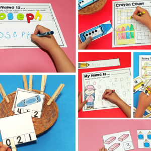 Back to School Activities and Centers