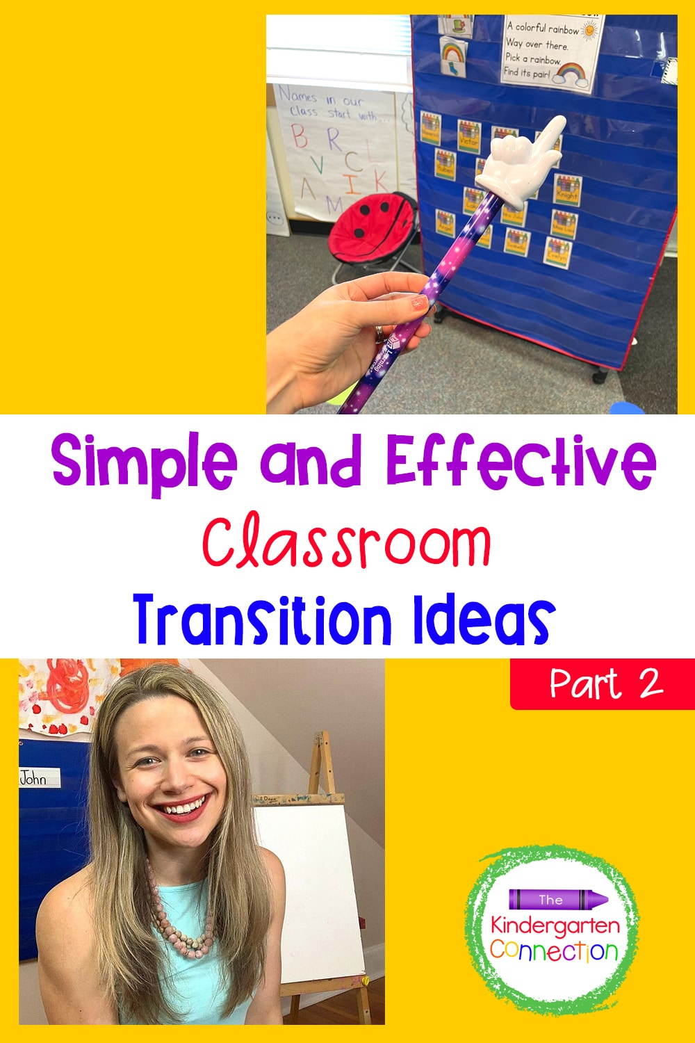 Stress less and accomplish more throughout the day with these simple and effective classroom transition ideas!