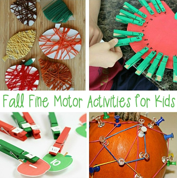 These fall fine motor activities are sure to keep your students engaged all season long.