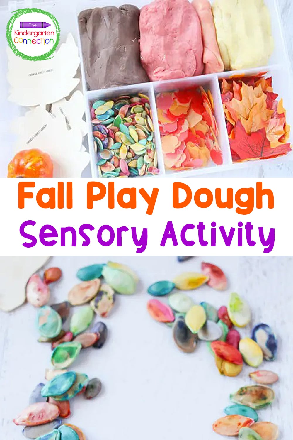 This Fall Play Dough Kit is an awesome activity to encourage classroom sensory play. So many fun ways for kids to be creative!