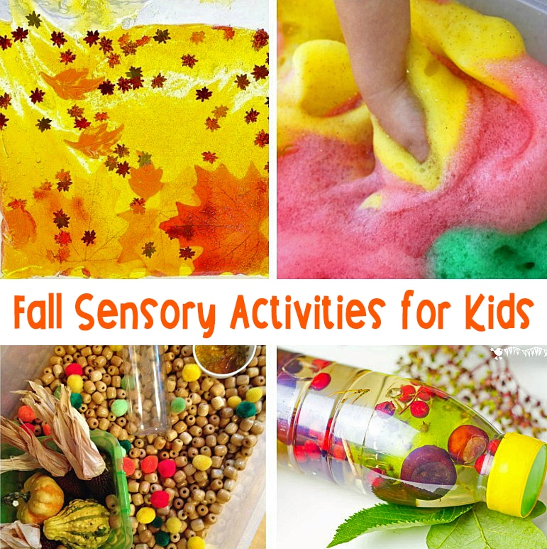 These fall sensory activities are hands-on and super engaging.