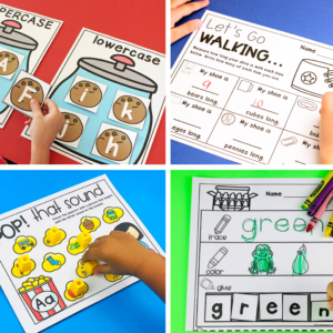 Skill-Based Math and Literacy Centers for the Year