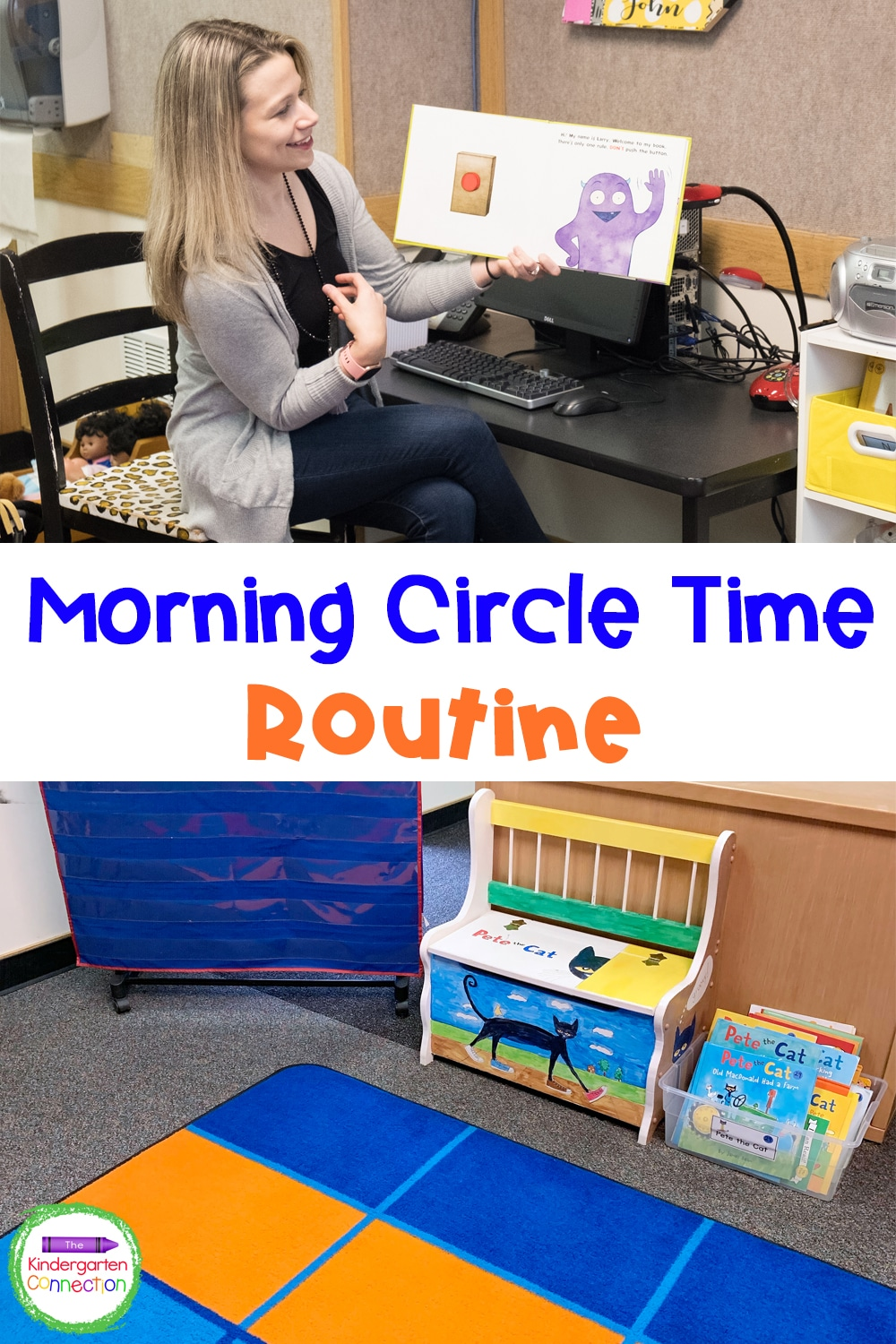 Check out my morning Circle Time routine for Pre-K & Kindergarten and start making time for building community in the classroom!