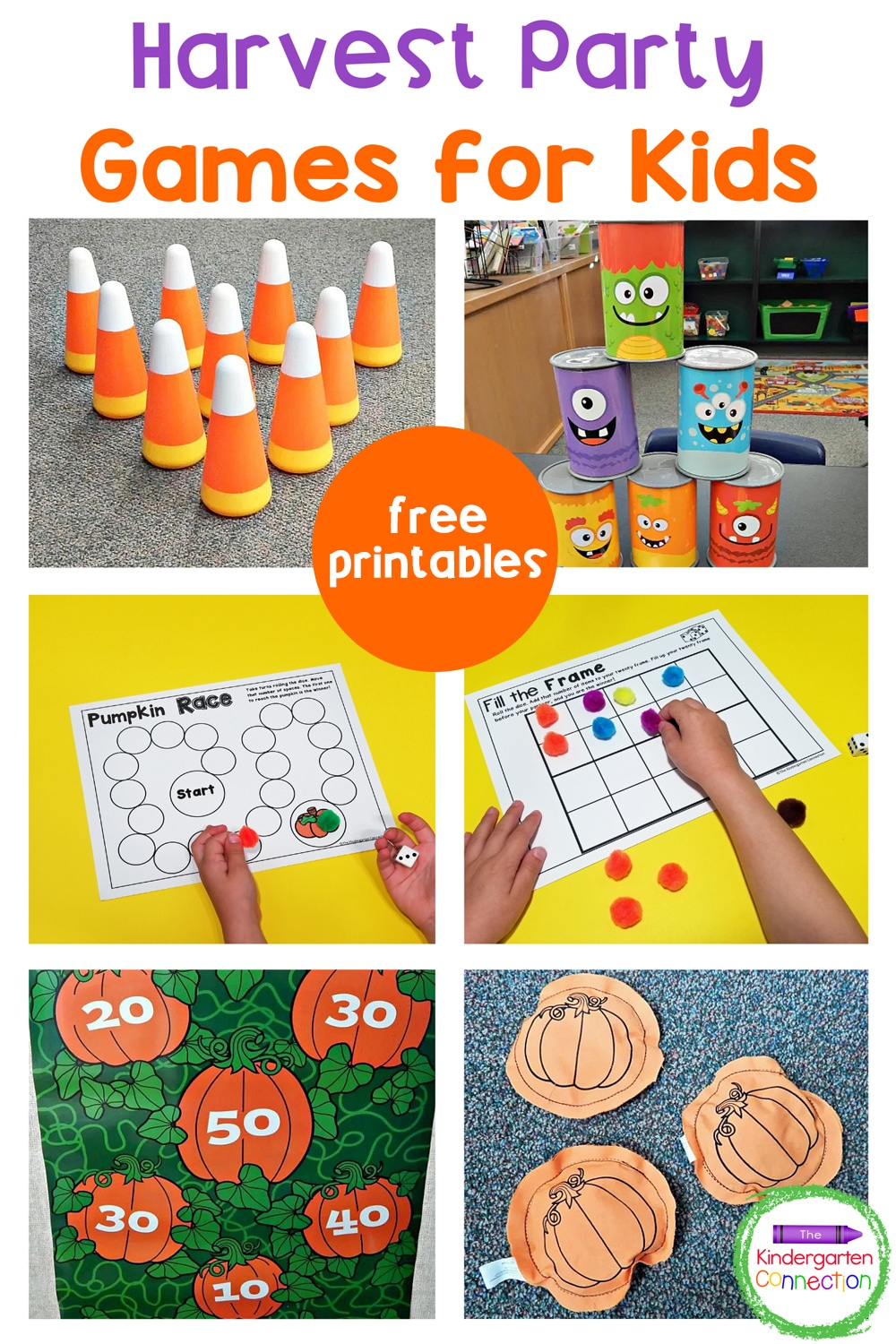 Have a blast celebrating this fall with these 5 fun harvest party games for kids! They're sure to be a hit at home or in the classroom!
