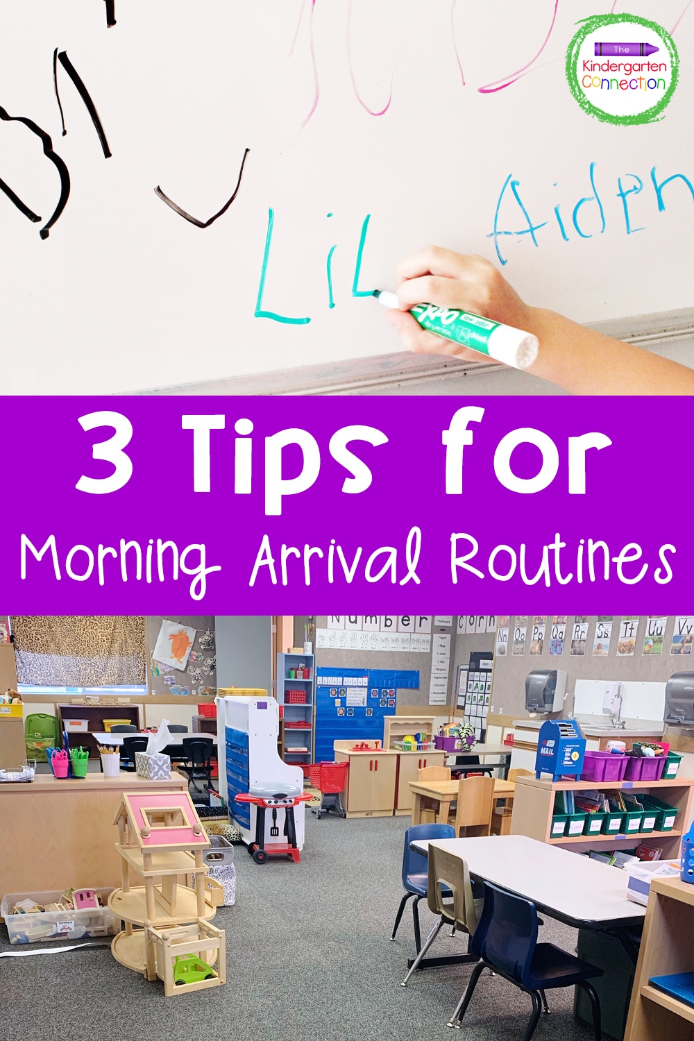 Start the school day with a more peaceful, less stressful environment with these simple and effective tips for morning arrival routines!