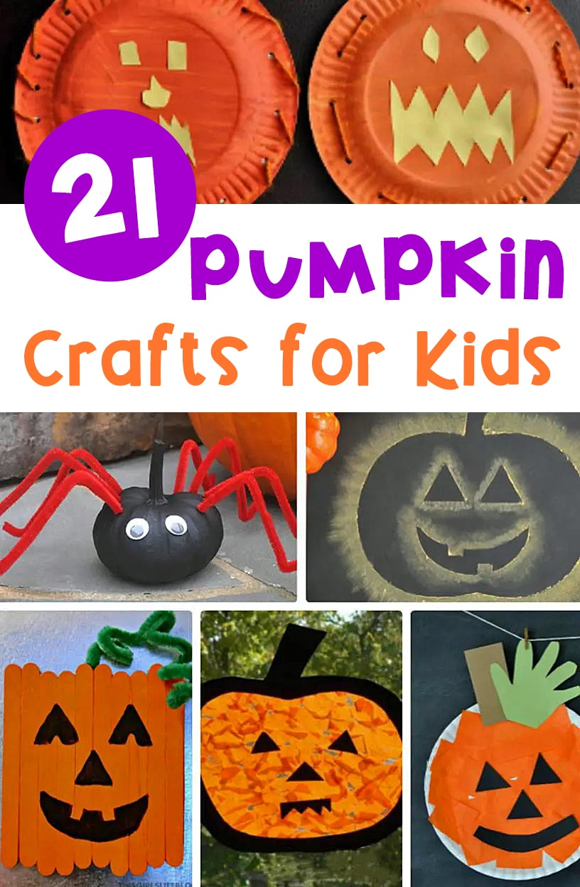 These adorable and fun pumpkin crafts for kids are perfect to try this fall in your classroom or at home! They're sure to be a hit!