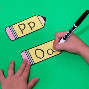 Alphabet Writing Pencils
