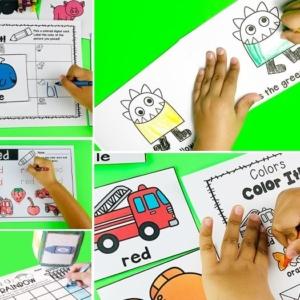 Color Centers and Activities for Pre-K & Kindergarten