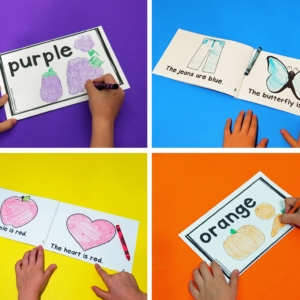 Emergent Readers – Color Words Collection