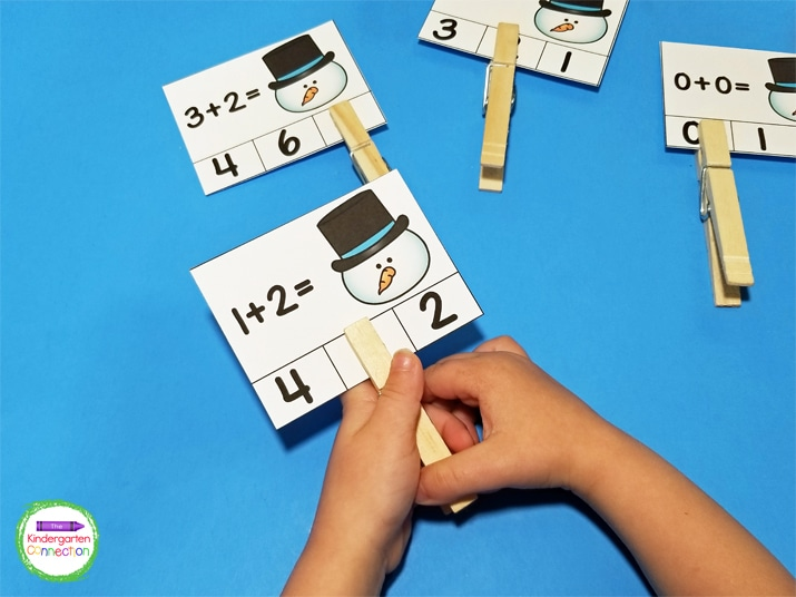 The interactive math activities like these addition clip cards will have your students super excited to learn!