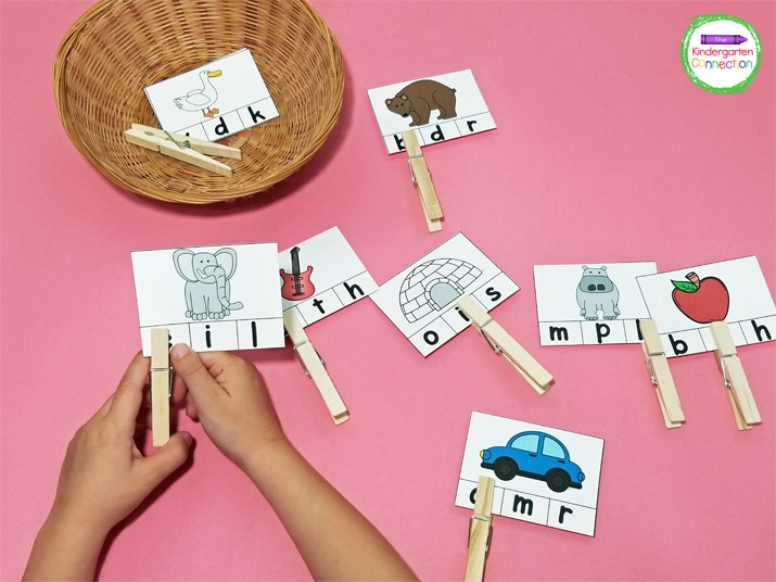 Your kids will love building literacy skills like beginning sounds with these hands-on literacy activities!