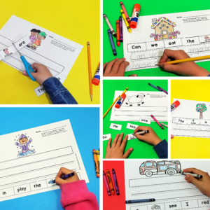 Sentence Sorter Activities for the Year