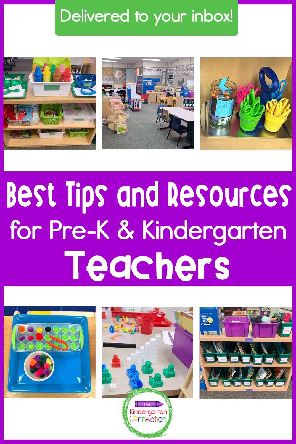 Sign up for our FREE email series for Pre-K & Kindergarten Teachers that will deliver weekly teacher tips and strategies to your inbox!